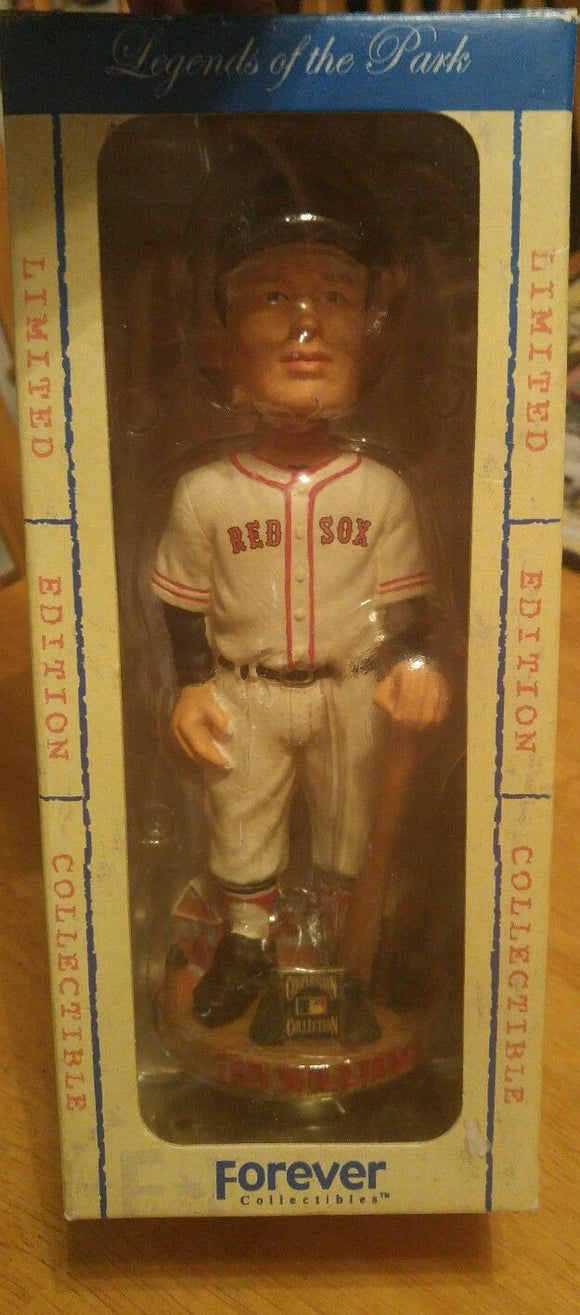 2004 Forever Cooperstown Collection Ted Williams Bobble Head Limited Edition - JM Collectibles