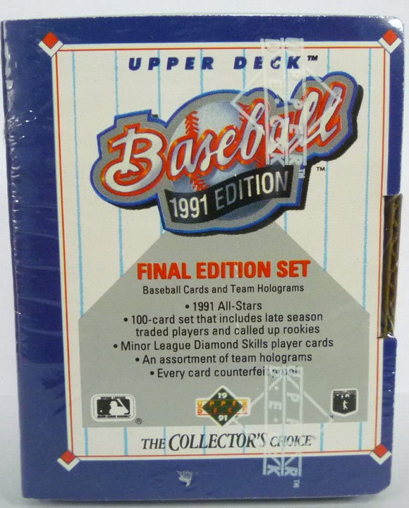 1991 Upper Deck Final Edition Factory Sealed Set