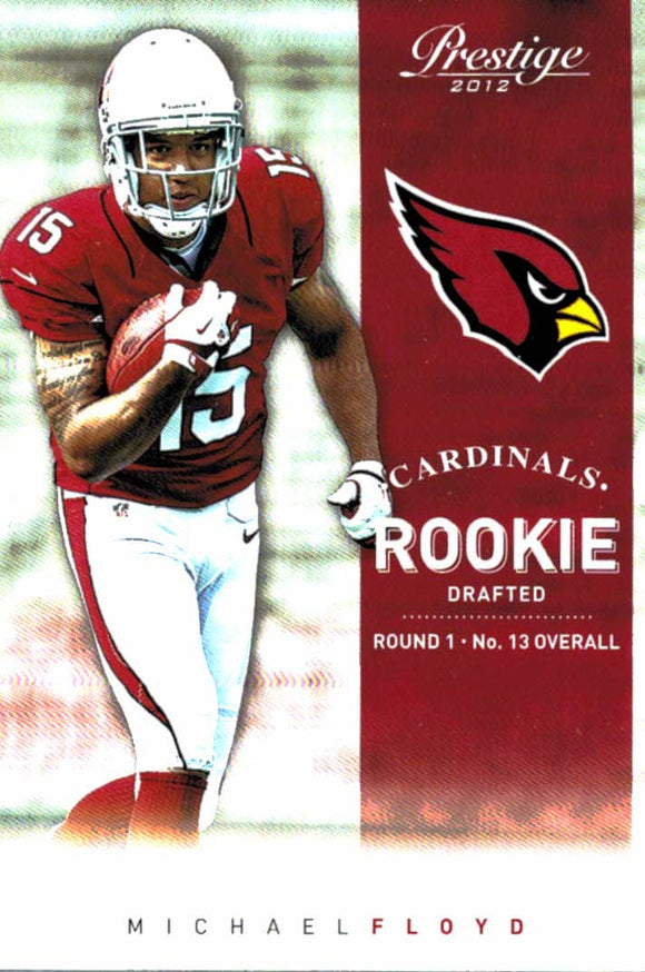 2012 Prestige Michael Floyd Rookie Card Arizona Cardinals - JM Collectibles