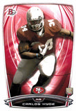 2014 Bowman Carlos Hyde Rookie Card San Francisco 49ers - JM Collectibles