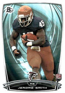 2014 Bowman Jerome Smith Rookie Card Atlanta Falcons - JM Collectibles