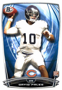 2014 Bowman David Fales Rookie Card Chicago Bears - JM Collectibles