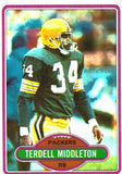 1980 Topps Terdell Middleton Green Bay Packers - JM Collectibles