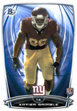 2014 Bowman Xavier Grimble Rookie Card New York Giants - JM Collectibles