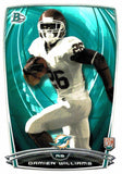 2014 Bowman Damien Williams Rookie Card Miami Dolphins - JM Collectibles