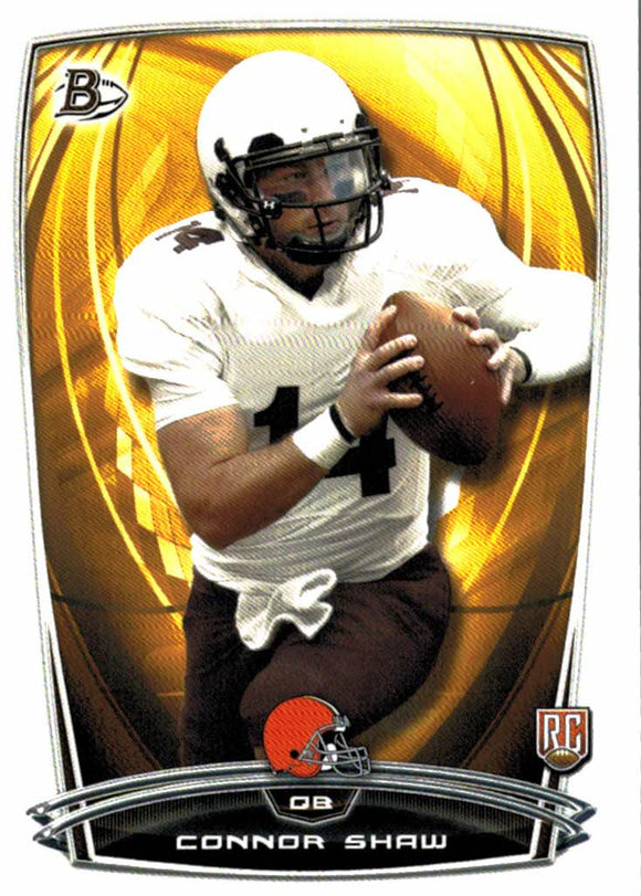 2014 Bowman Connor Shaw Rookie Card Cleveland Browns - JM Collectibles