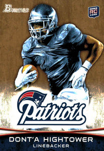 2012 Bowman Gold Dont'a Hightower Rookie Card New England Patriots - JM Collectibles