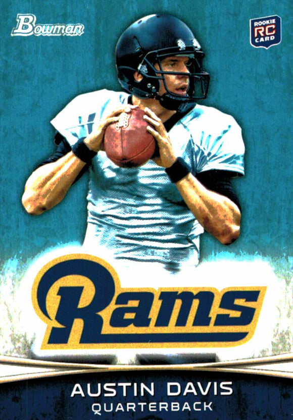 2012 Bowman Austin Davis Rookie Card St Louis Rams - JM Collectibles