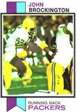 1973 Topps John Brockington Green Bay Packers - JM Collectibles