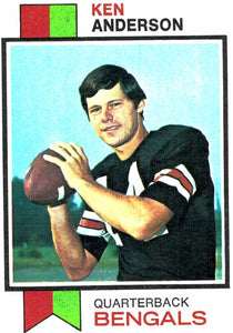 1973 Topps Ken Anderson Rookie Card Cincinnati Bengals - JM Collectibles