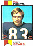 1973 Topps Mac Percival Chicago Bears - JM Collectibles