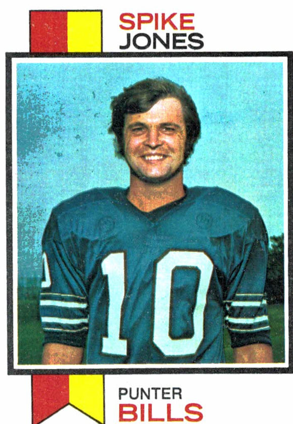 1973 Topps Spike Jones Buffalo Bills - JM Collectibles