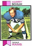 1973 Topps Harry Schuh Los Angeles Rams - JM Collectibles