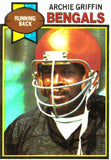 1979 Topps Archie Griffin Cincinnati Bengals - JM Collectibles