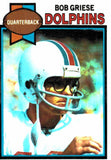 1979 Topps Bob Griese Miami Dolphins - JM Collectibles