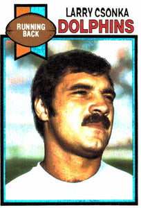 1979 Topps Larry Csonka Miami Dolphins - JM Collectibles