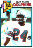 1979 Topps Delvin Williams Miami Dolphins - JM Collectibles