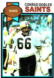 1979 Topps Conrad Dobler New Orleans Saints - JM Collectibles