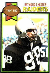 1979 Topps Raymond Chester Oakland Raiders - JM Collectibles