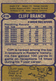 1979 Topps Cliff Branch Oakland Raiders - JM Collectibles