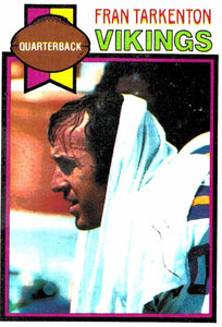 1979 Topps Fran Tarkenton Minnesota Vikings - JM Collectibles
