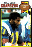 1979 Topps Fred Dean San Diego Chargers - JM Collectibles