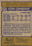 1979 Topps Bennie Cunningham Pittsburgh Steelers - JM Collectibles