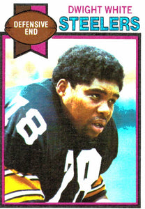 1979 Topps Dwight White Pittsburgh Steelers - JM Collectibles