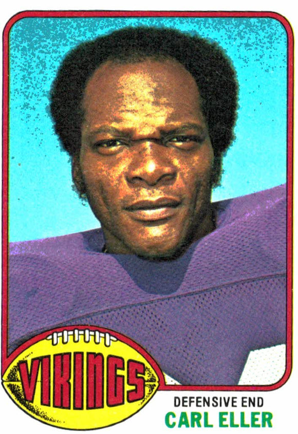 1976 Topps Carl Eller Minnesota Vikings - JM Collectibles