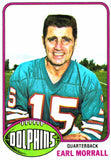 1976 Topps Earl Morrall Miami Dolphins - JM Collectibles