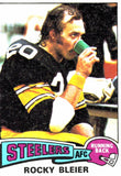 1975 Topps Rocky Bleier Pittsburgh Steelers - JM Collectibles
