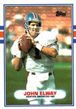 1989 Topps John Elway Denver Broncos - JM Collectibles