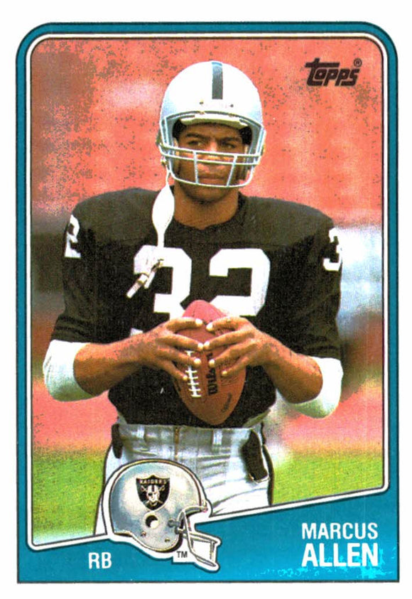 1988 Topps Marcus Allen Los Angeles Raiders - JM Collectibles