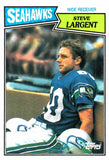 1987 Topps Steve Largent Seattle Seahawks - JM Collectibles