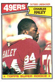1987 Topps Charles Haley Super Rookie Card San Francisco 49ers - JM Collectibles