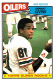 1987 Topps Ernest Givens Super Rookie Card Houston Oilers - JM Collectibles