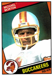 1984 Topps Michael Morton Tampa Bay Buccaneers - JM Collectibles