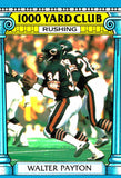 1987 Topps Walter Payton 1000 Rushing Yard Club Chicago Bears - JM Collectibles