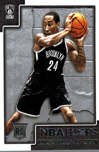 2015-16 NBA Hoops Rondae Hollis Jefferson Silver Rookie Card Brooklyn Nets - JM Collectibles
