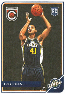 2015-16 Panini Complete Trey Lyles Rookie Card Utah Jazz - JM Collectibles