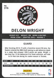 2015-16 Panini Complete DeLon Wright Rookie Card Toronto Raptors - JM Collectibles
