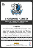 2015-16 Panini Complete Brandon Ashley Rookie Card Silver Dallas Mavericks - JM Collectibles