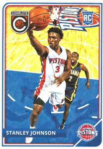 2015-16 Panini Complete Stanley Johnson Rookie Card Detroit Pistons - JM Collectibles