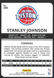 2015-16 Panini Complete Stanley Johnson Silver Rookie Card Detroit Pistons - JM Collectibles