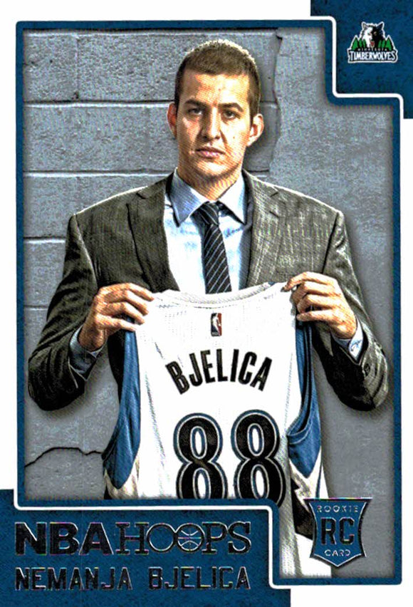 2015-16 NBA Hoops Nemanja Bjelica Rookie Card Minnesota Timberwolves - JM Collectibles