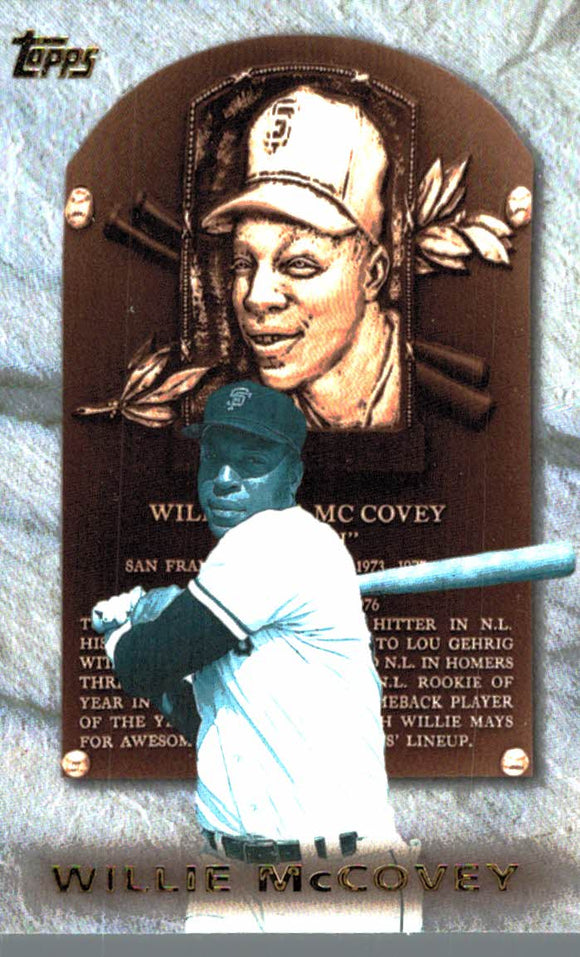 1998 Topps Willie McCovey Hall Of Fame Collection San Francisco Giants - JM Collectibles
