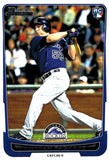 2012 Bowman Jordan Pacheco Rookie Card Colorado Rockies - JM Collectibles