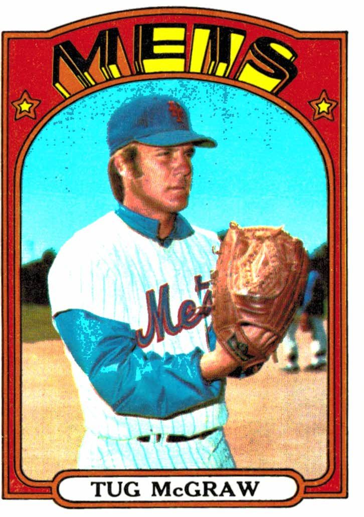 Buy 1972 Topps Tug Mcgraw New York Mets At Jm Collectibles For Only 200