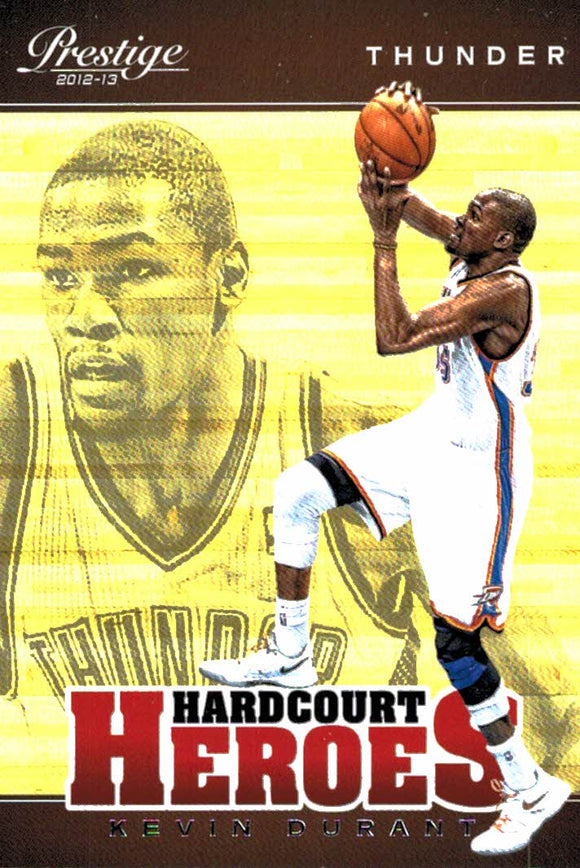 2012-13 Prestige Kevin Durant Hardcourt Heroes Oklahoma City Thunder - JM Collectibles