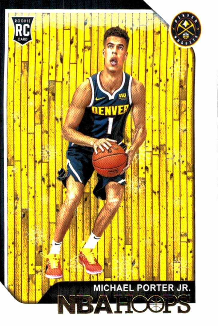 Buy 2018 19 Panini Hoops Winter Snowflake Michael Porter Jr Rookie Card Denver Nuggets At Jm Collectibles For Only 100